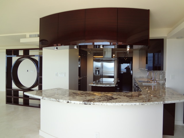 Fort Lauderdale contemporary-kitchen-cabinetry