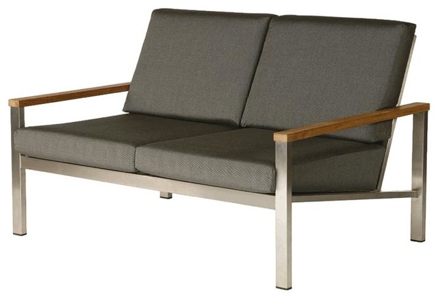 Barlow Tyrie - Equinox Two Seater - Coal contemporary-outdoor-sofas