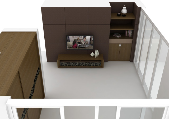Limitless - Customized modern-family-room