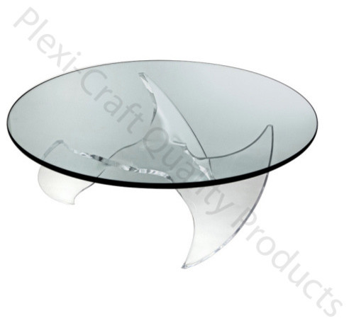 Prop Cocktail Table Base contemporary-indoor-pub-and-bistro-tables