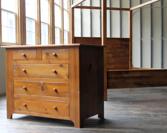 farmhouse bedroom dresser from reclaimed wood - Made by http://www.ecustomfinishes.com