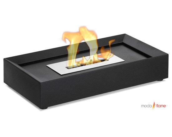 Moda Flame Serpa Table Top Ethanol Fireplace - Serpa Table Top Ethanol Fireplace