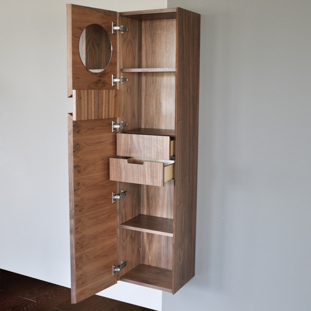 Lacava Luce FloatingTall Storage Cabinet modern-bathroom-storage
