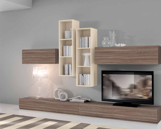 Modern Wall Unit VV 3902 - $1,923.00 - Made in Italy.