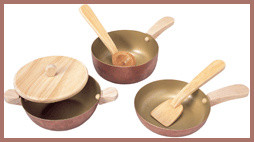 Kitchen pots & pans traditional-kids-toys-and-games