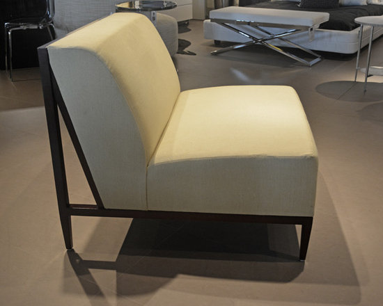 Showroom Pieces - New accent chair on our floor.