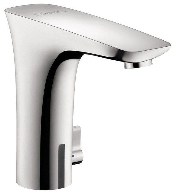 Hansgrohe 15170001 PuraVida Electronic Faucet w/ Temperature Control in Chrome modern-bathroom-faucets-and-showerheads