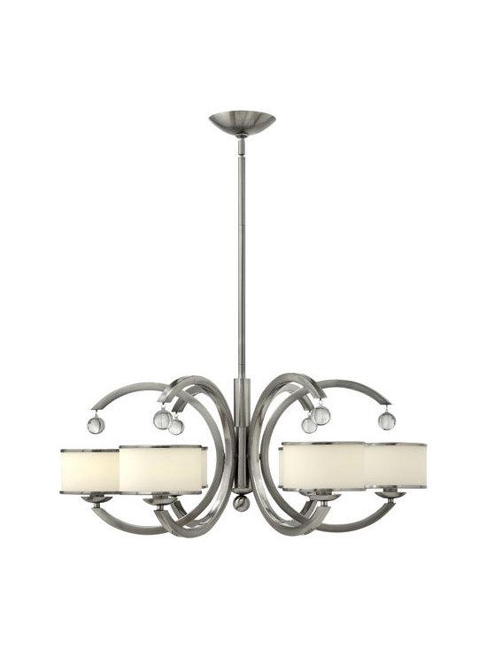 Hinkley Lighting 4856BN 6 Light Chandelier Monaco Collection -
