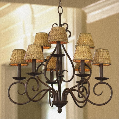 9-Arm Talia Chandelier traditional chandeliers