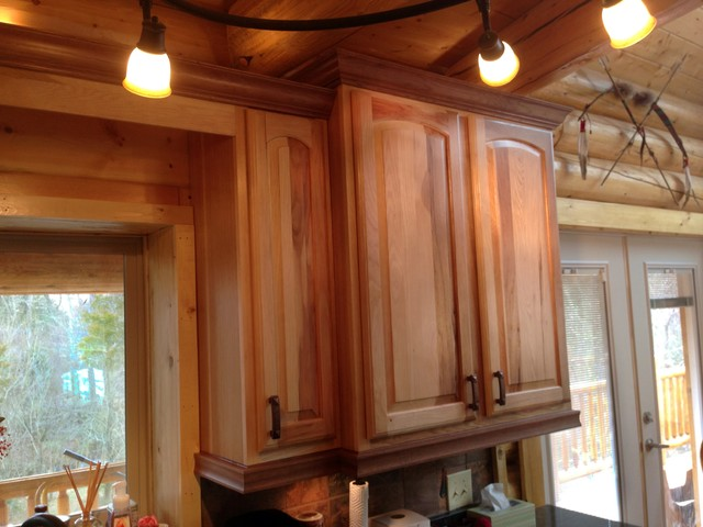 A Kitchen in the Woods traditional-kitchen