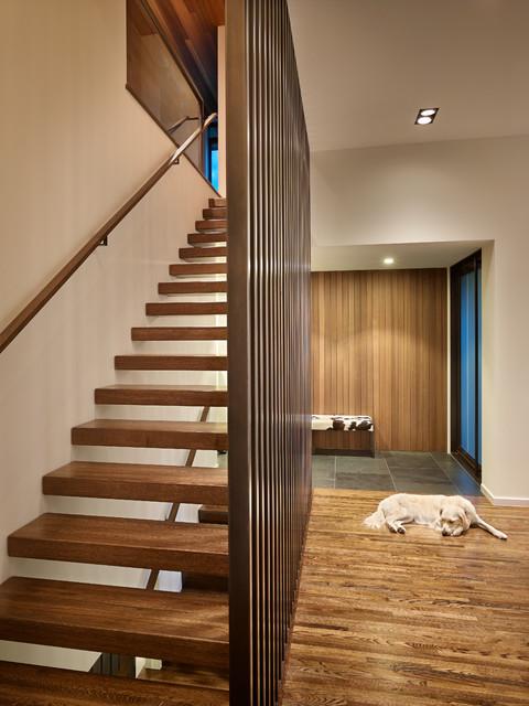 Sunrise Vista contemporary-staircase
