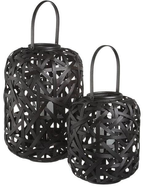Helix Lanterns contemporary-candles-and-candleholders