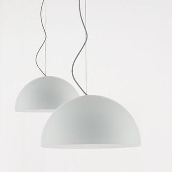Oluce | NON-IC New Construction Housing for Six Inch Horiztonal Fluorescent Trim modern-pendant-lighting