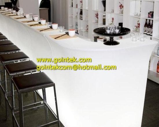 Illuminated Lighted LED Bar Counter -
