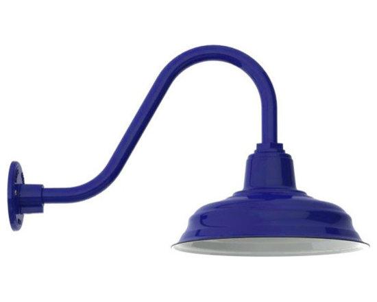 Goodrich® Bomber Porcelain Gooseneck Light -