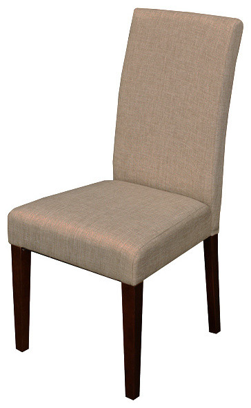Seville Linen Dining Chairs (Set of 2) contemporary-dining-chairs