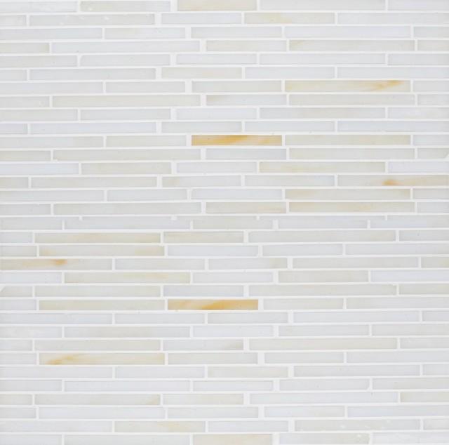 Gigi's Groovy Stixx Glass Mosaic Tiles eclectic-mosaic-tile