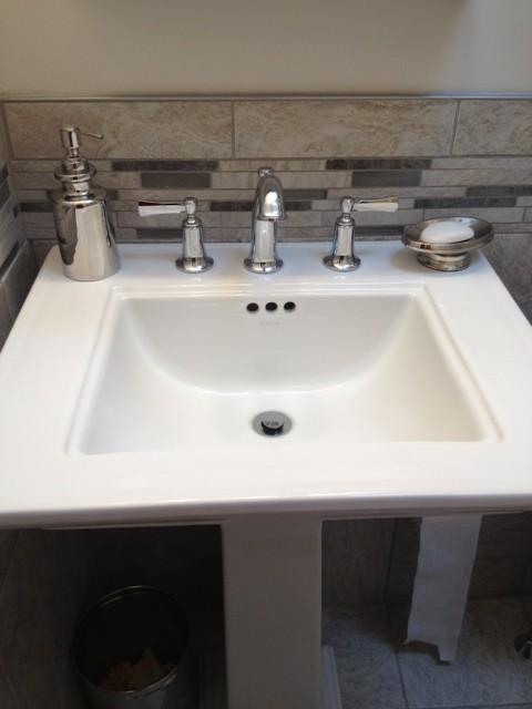 Elliston Pedestal Sink : Kohler Memoirs and Elliston Bathroom - Olney (Philadelphia ...
