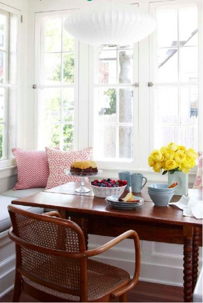 Westchester Dutch Colonial eclectic-dining-room