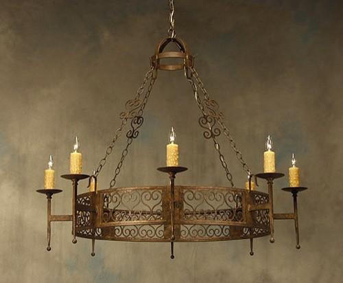 2nd Ave Design Toscano 1-Tier Chandelier chandeliers