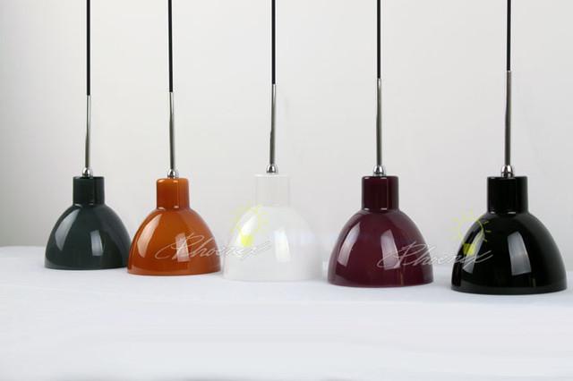 Multi color glass pendant lighrting contemporary - Colored glass pendant lights ...