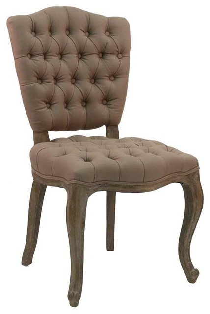 Zentique Piaf Side Chair traditional-living-room-chairs