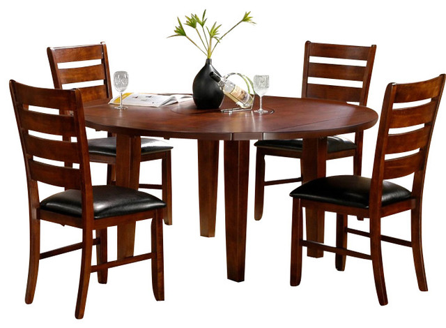 homelegance ameillia 6 drop leaf dining room