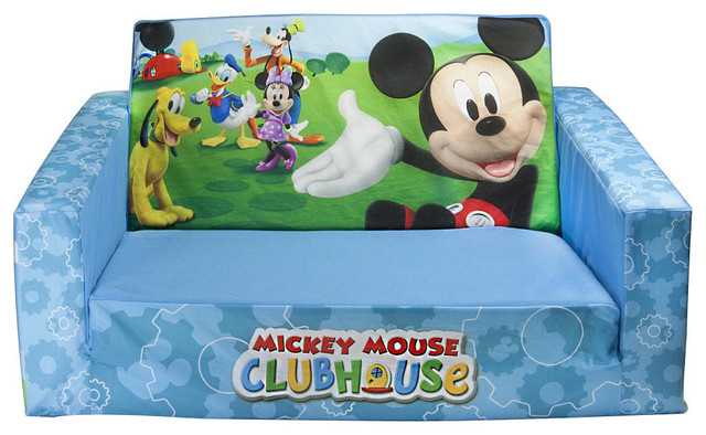 Mickey Mouse Clubhouse Flip open Sofa With Slumber