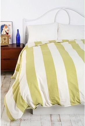 Black And White Cabana Stripe Bedding