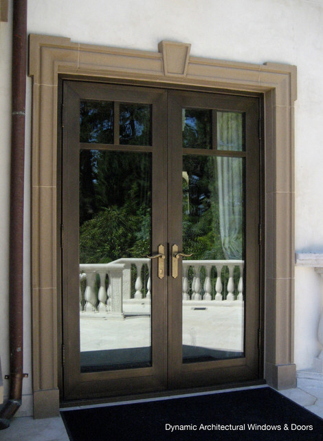 Bronze clad french doors traditional windows and doors - Traditional french doors exterior ...
