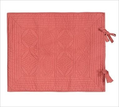 Hanna Wholecloth Quilted Sham, Standard, Desert Rose traditional-pillowcases-and-shams