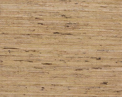 Oatmeal Grasscloth Wallpaper eclectic wallpaper