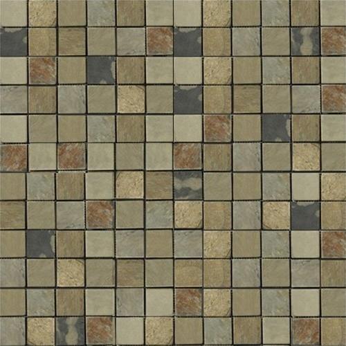 indian autumn tumbled slate mosaic tiles modern wall