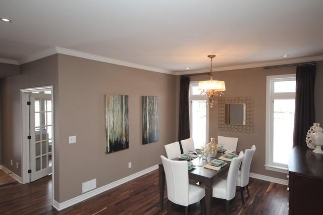 Tamarack homes 39 dover model traditional dining room for Model home dining room