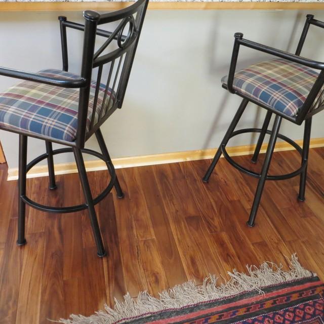 Acacia Asian Walnut Bronze Smooth Hardwood Flooring traditional-hardwood-flooring