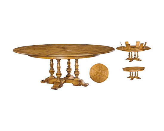 Large Oak Jupe Dining Table in Honey -