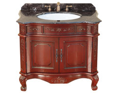"37"" Bosconi T-3803 Single Vanity traditional-bathroom-vanities-and-sink-consoles"