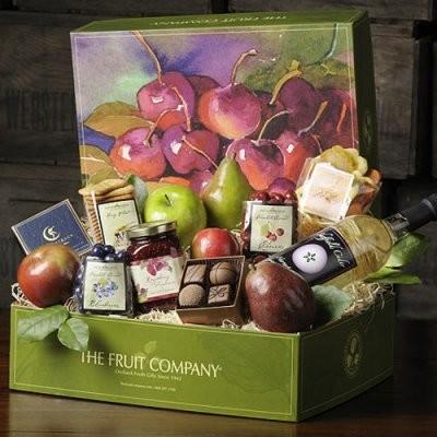Harvest Gathering Gift Box modern-plants