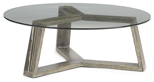 Round Coffee Table made with Reclaimed wood and recycled steel base with  Glass top. Wood column Base is adjustable for look only | Pinterest |  Columns, ... - Round Coffee Table Made With Reclaimed Wood And Recycled Steel