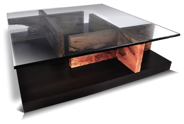 Maze Coffee Table Mango Contemporary Tables