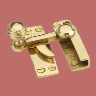 Sash Window Locks Solid Brass 3 1/8'' L Lever Window Lock ...