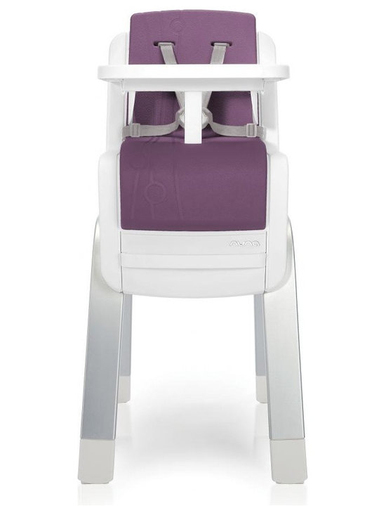Zaaz High Chair, Plum - Perfect Fit