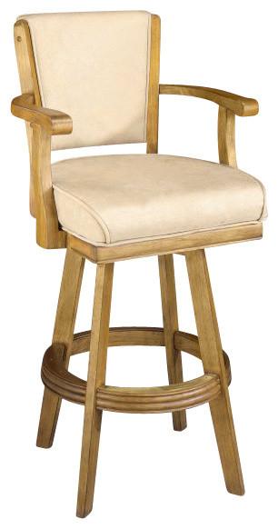 Hillsdale Classic Oak Swivel 30 Inch Barstool