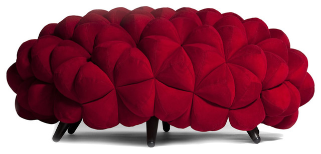 Anana Poof by Aqua Creations contemporary-indoor-benches