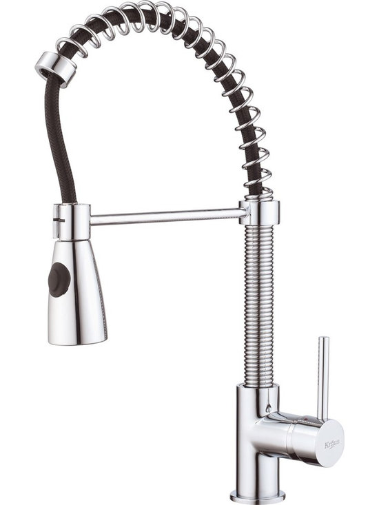 "Kraus KPF-1612 Single Lever Pull Out Kitchen Faucet - APPLY COUPON CODE ""EDHOUZ20"" AT CHECKOUT. JUST OUR WAY OF SAYING THANKS."