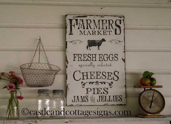 Farmers market sign ideas farmer s market sign by
