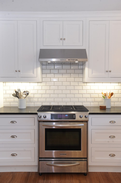 Beveled Tiles Kitchen Ideas