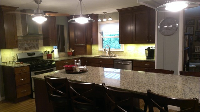 Remodeling Solutions - Kitchen Remodel - Bloomington, IL eclectic