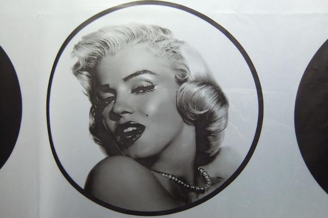 Marilyn Monroe Shower Curtain shower-curtains