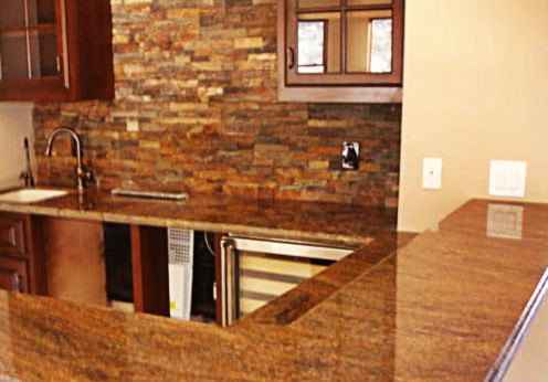 Granite Bar And Table Tops Mediterranean Kitchen Countertops San Diego By Southwest Granite